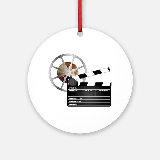 Movie Round Ornament