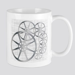 Movie Reel Grunge Mugs