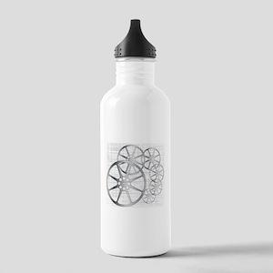 Movie Reel Grunge Stainless Water Bottle 1.0L