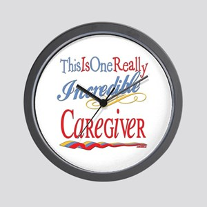 Incredible Caregiver Wall Clock