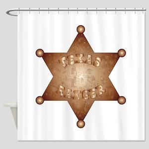 Texas Ranger Shower Curtain