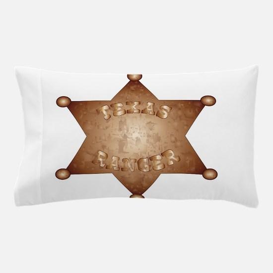 Texas Ranger Pillow Case