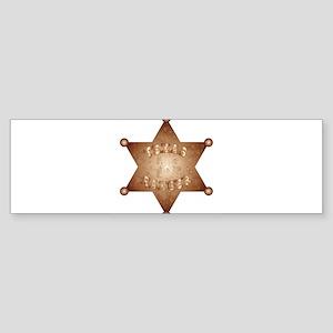 Texas Ranger Bumper Sticker