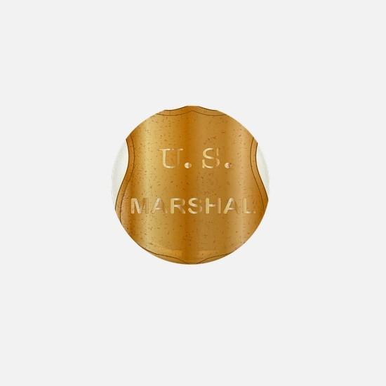 United States MArshal Shield Badge Mini Button