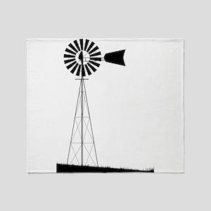 Windmill Throw Blanket