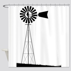 Windmill Shower Curtain