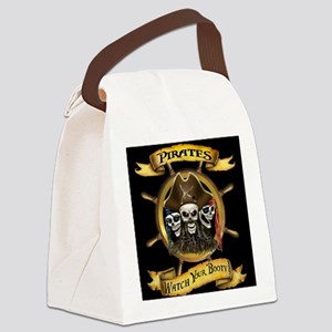 Pirates Watch Your Booty! Canvas Lunch Bag