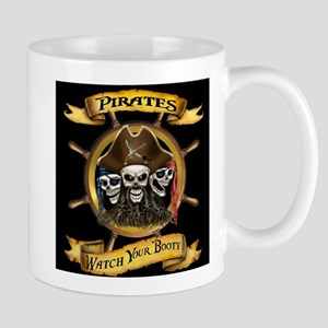 Pirates Watch Your Booty! Mugs