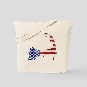 Cape Cod American Flag Tote Bag