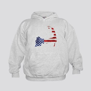 Cape Cod American Flag Hoodie