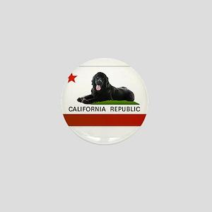 California Newfie Flag Mini Button