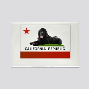 California Newfie Flag Magnets