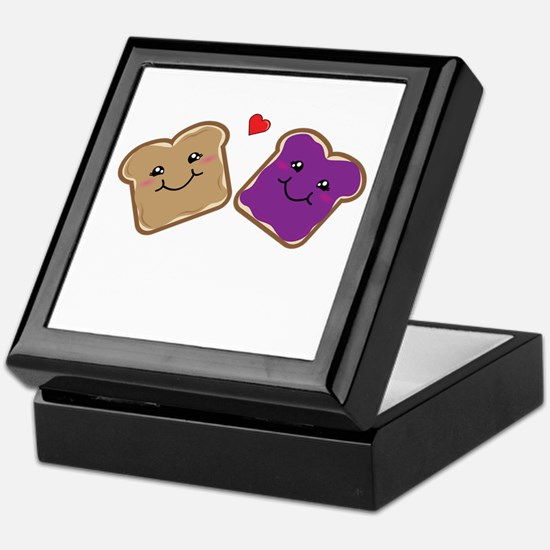Peanut Butter and Jelly Best Friends Keepsake Box