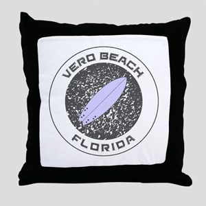 Florida - Vero Beach Throw Pillow