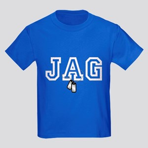 jag stars and stripes 2 Kids Dark T-Shirt