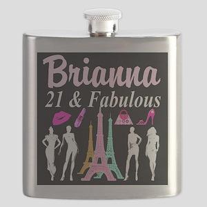 21ST PARIS Flask