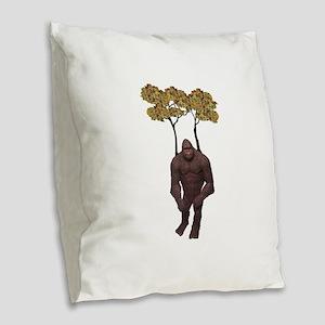 LEGEND Burlap Throw Pillow