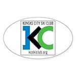 KCSC Logo Sticker (Oval)