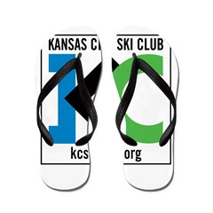 KCSC Logo Flip Flops