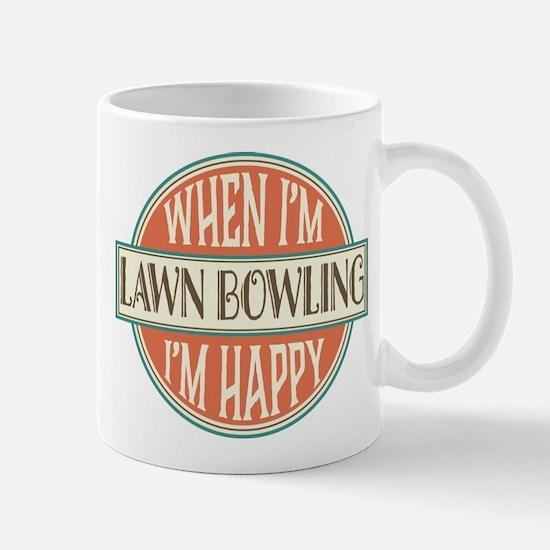 happy lawn bowler Mug