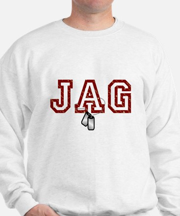 jag stars and stripes 4 Sweatshirt