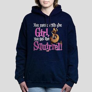 Squirrel Girl Mess with Women's Hooded Sweatshirt
