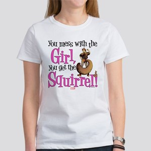Squirrel Girl Mess with the Girl Women's T-Shirt