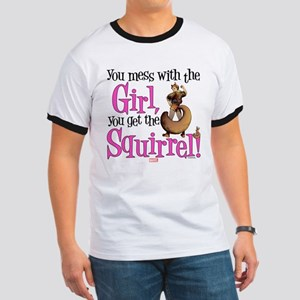 Squirrel Girl Mess with the Girl Ringer T