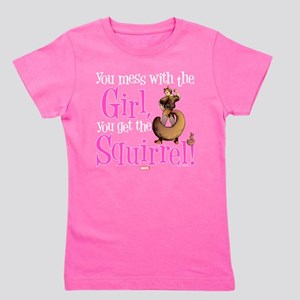 Squirrel Girl Mess with the Girl Girl's Tee