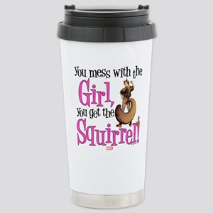 Squirrel Girl Mess with Stainless Steel Travel Mug