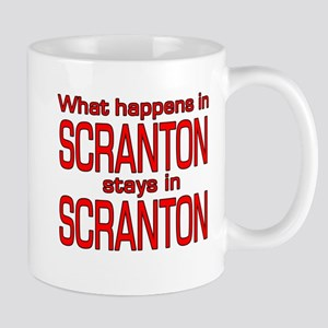 What happens in SCRANTON Mug