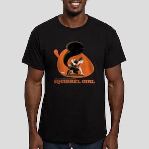 Squirrel Girl Orange Men's Fitted T-Shirt (dark)