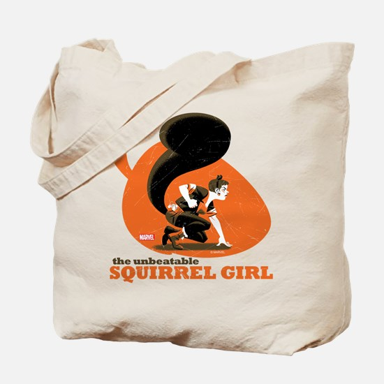 Squirrel Girl Orange Tote Bag