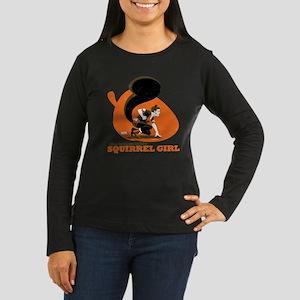 Squirrel Girl Ora Women's Long Sleeve Dark T-Shirt