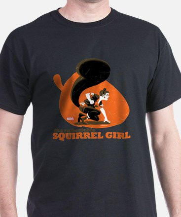Squirrel Girl Orange T-Shirt