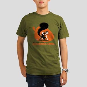 Squirrel Girl Orange Organic Men's T-Shirt (dark)