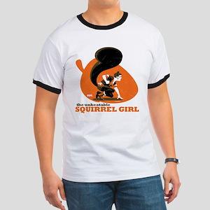 Squirrel Girl Orange Ringer T
