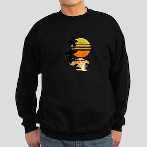 Surfing Sunrise Sweatshirt