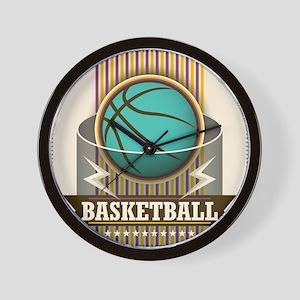 Basketball Sport Ball Game Cool Wall Clock