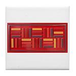 Jackie-Red Tile Coaster