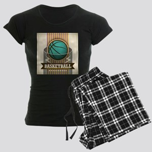 Basketball Sport Ball Game C Women's Dark Pajamas