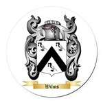 Wilms Round Car Magnet