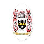 Wilmott Oval Car Magnet