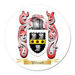 Wilmott Round Car Magnet