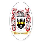 Wilmott Sticker (Oval)