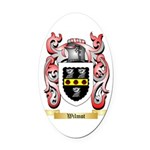 Wilmot Oval Car Magnet