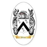 Wilm Sticker (Oval 50 pk)