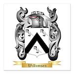Willumsen Square Car Magnet 3