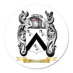 Willumsen Round Car Magnet