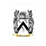 Willumsen Sticker (Rectangle 50 pk)